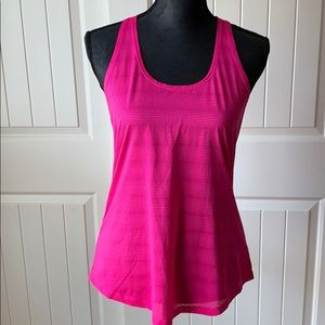 Tops - Forever 21 Pink Twisted T-Back Workout Tank